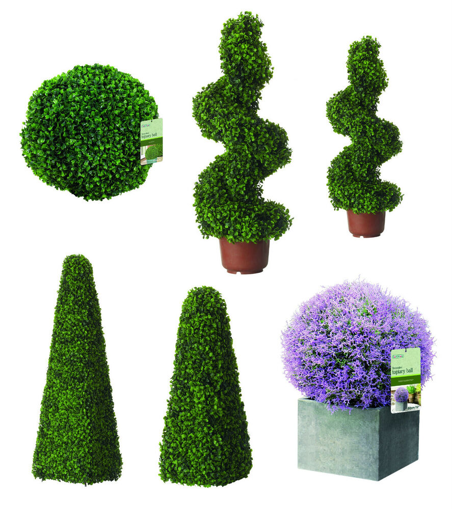 artificial topiary trees buxus balls hanging boxwood. Black Bedroom Furniture Sets. Home Design Ideas