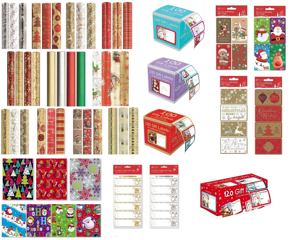 Luxury Christmas Wrapping Paper Roll Traditional Modern