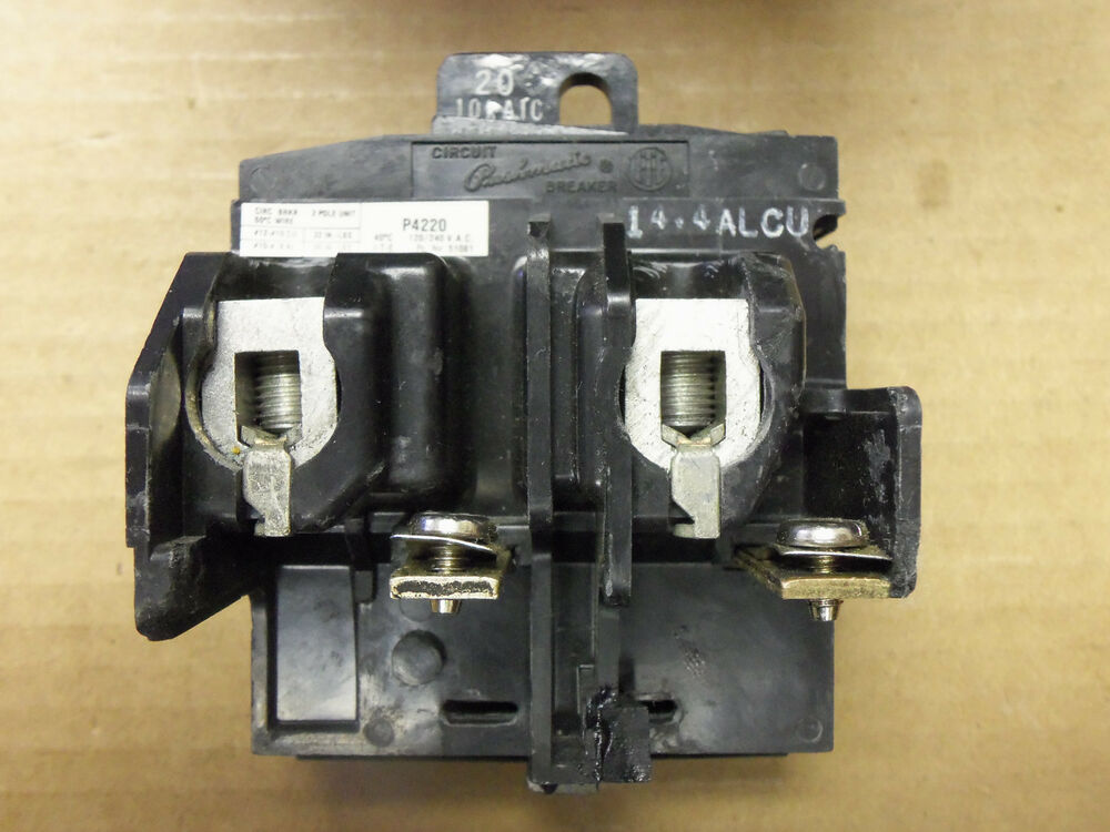 pushmatic circuit breaker box wiring ite pushmatic 3 phase p4220 2 pole 20 amp 120/240v circuit ... #10