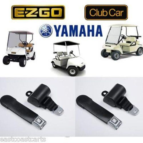 universal golf cart seat belts retractable seat belt 2 seat belts ebay. Black Bedroom Furniture Sets. Home Design Ideas