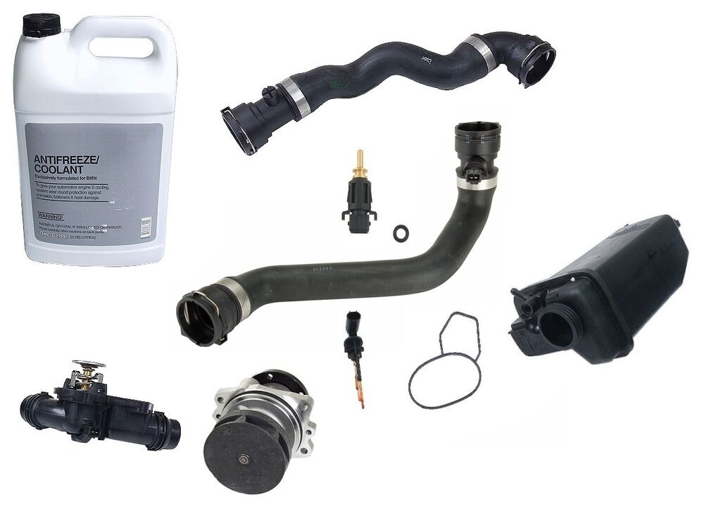For Bmw E39 5 Series Cooling System Overhaul Kit Antifreeze Water Pump Hoses Ebay