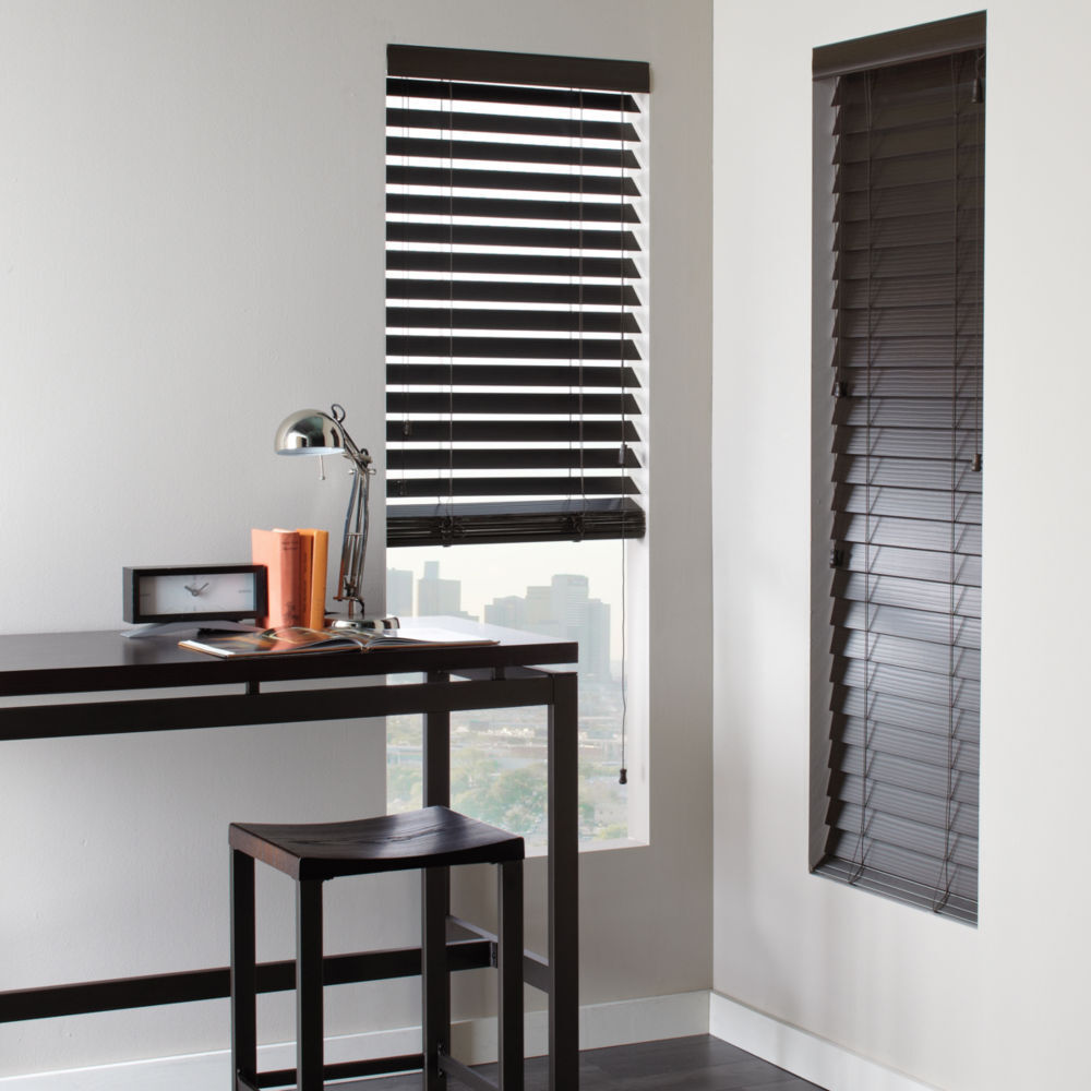 Shutter Look Faux Wood Blinds 4 Colors Free Shipping Ebay