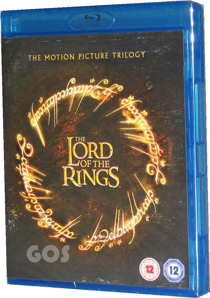 Lord Of The Rings Motion Picture Trilogy Dvd
