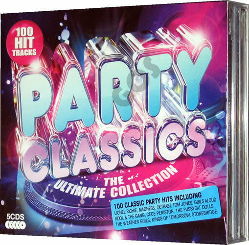 Ultimate party classic hits 5 cd original recording of 60s for Classic house party songs