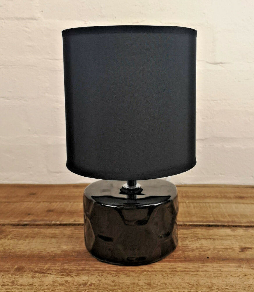 Black Shade Honeycomb Desk Bedside Cabinet Bedroom Living