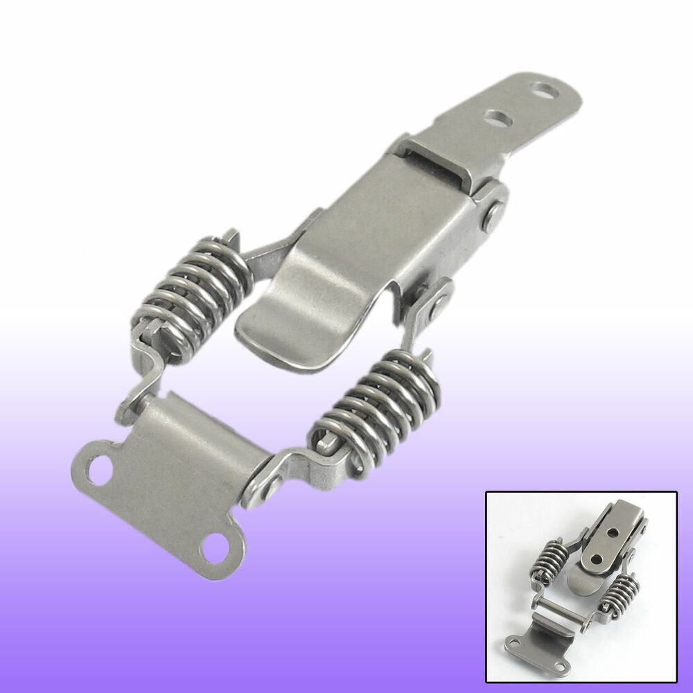Quot compression spring loaded stainless steel toggle