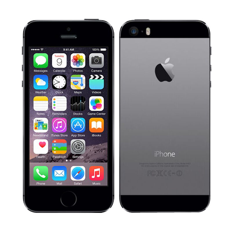 grau apple iphone 5s a1533 16gb ios ohne vertrag 4g lte. Black Bedroom Furniture Sets. Home Design Ideas