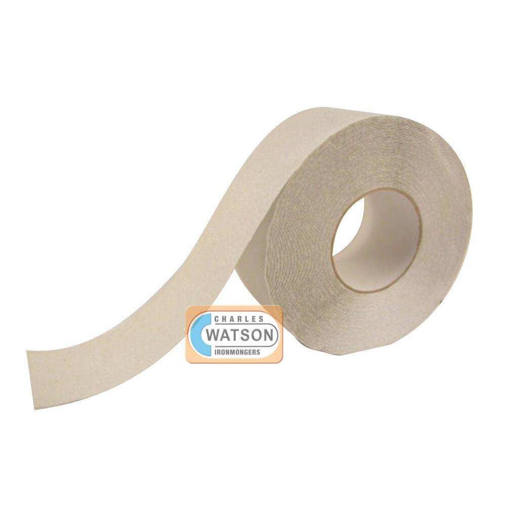 Anti Slip Floor Safety Grooving : Clear translucent anti slip tape high grip adhesive backed