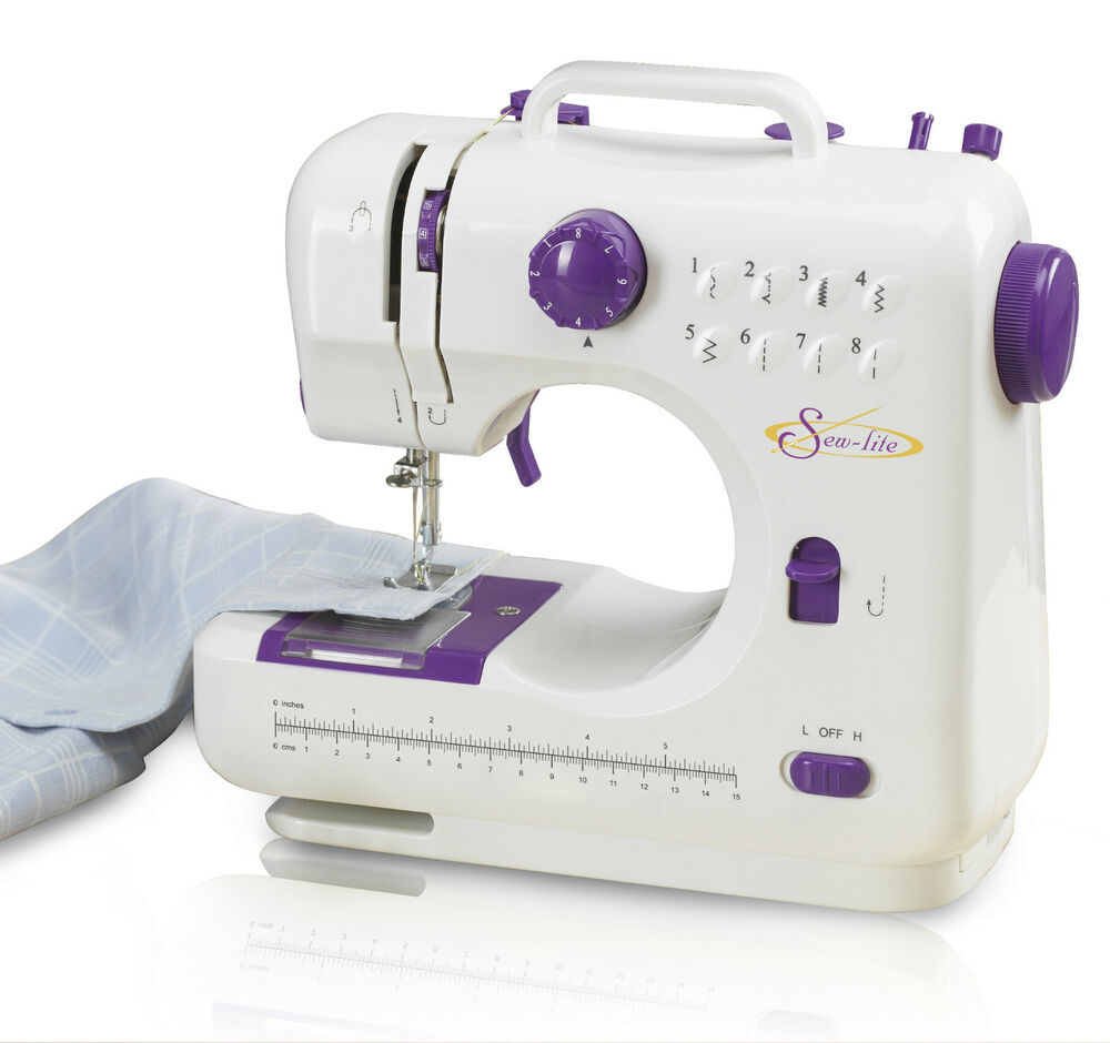 Compact Lightweight Mini Portable Electric Sewing Machine ...