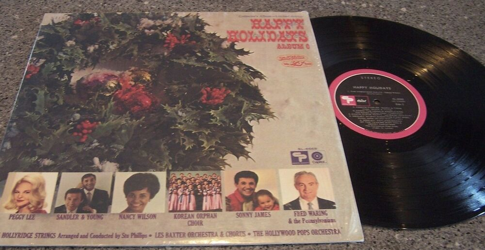 True Value Quot Happy Holiday Album 6 Quot Various Artists Lp Ebay