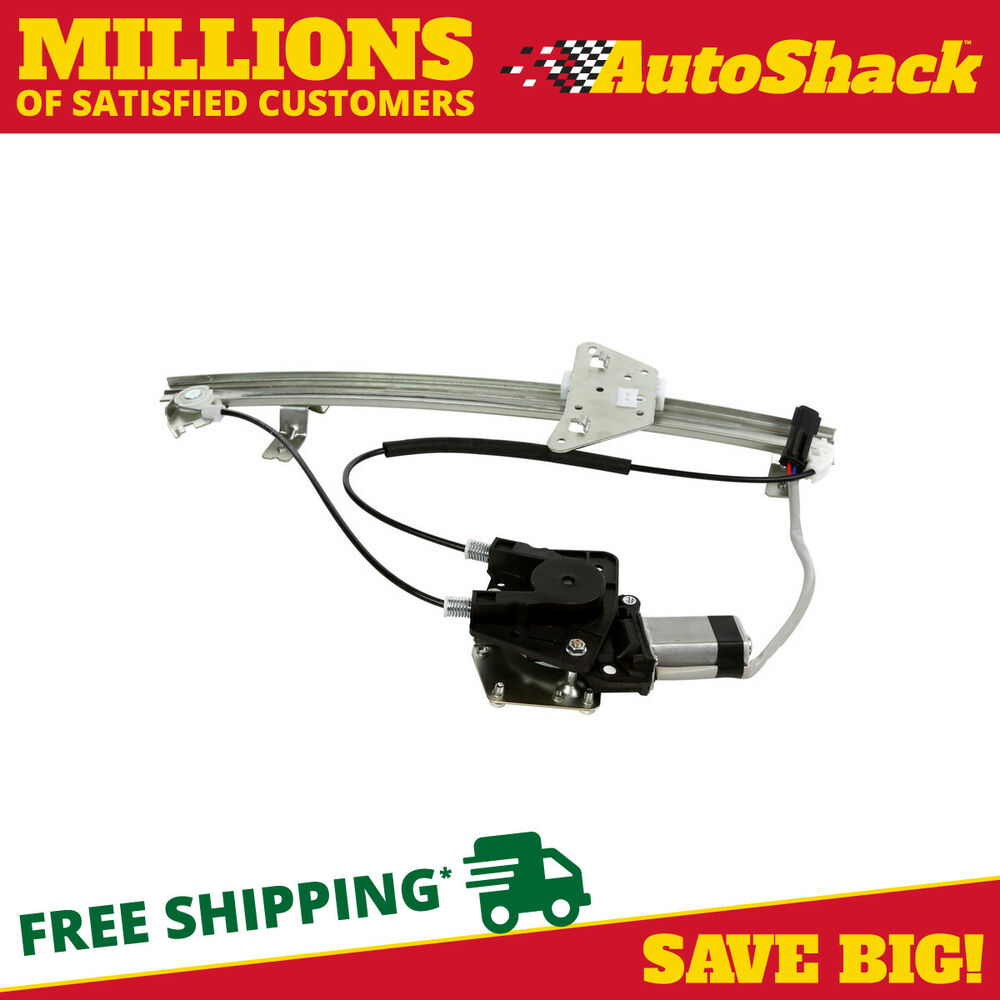 New power window regulator w motor front passenger side for 2002 dodge dakota window regulator
