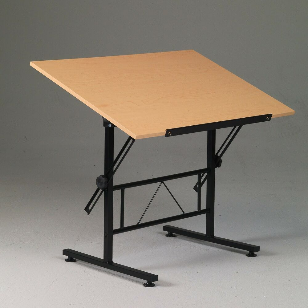Black Drafting Drawing Hobby Art Craft Table Desk Homework