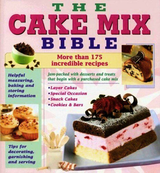 Cake Mix Bible Recipes