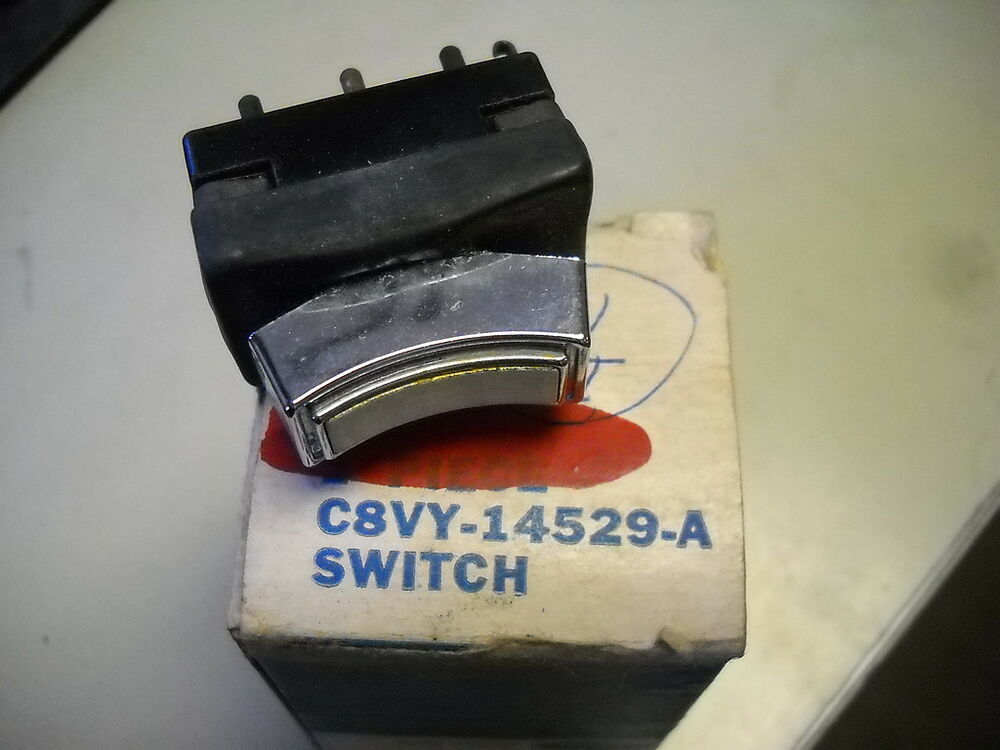 Nos 1968 Lincoln Continental Power Window Switch C8vy