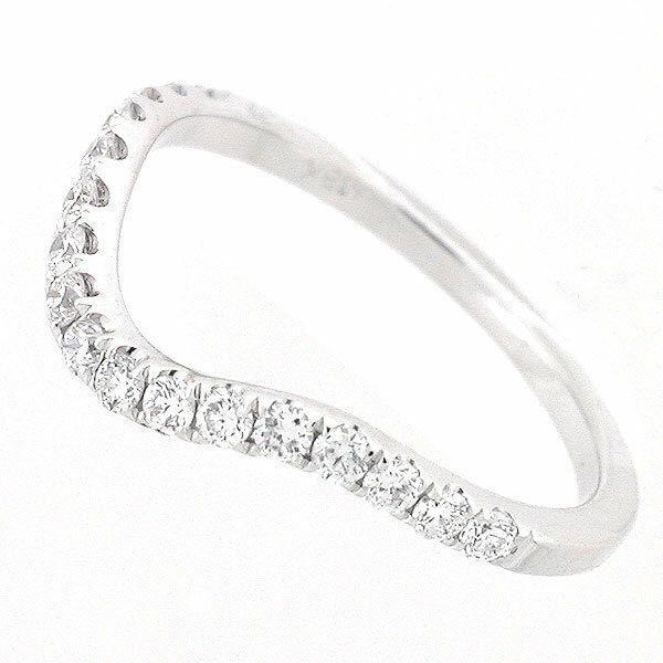 white gold curved diamond wedding ring cts diamond wavy wedding