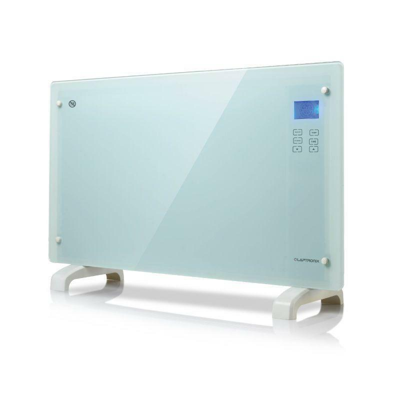 2000w White Glass Free Standing Wall Mounted Portable