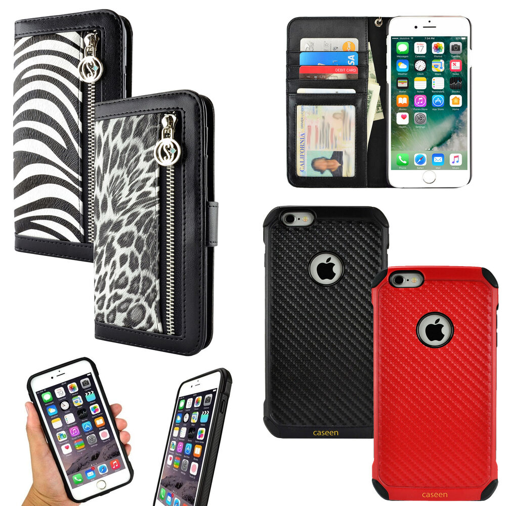 iphone 6s covers for apple iphone 6 6s 7 plus luxury animal print purse 11475