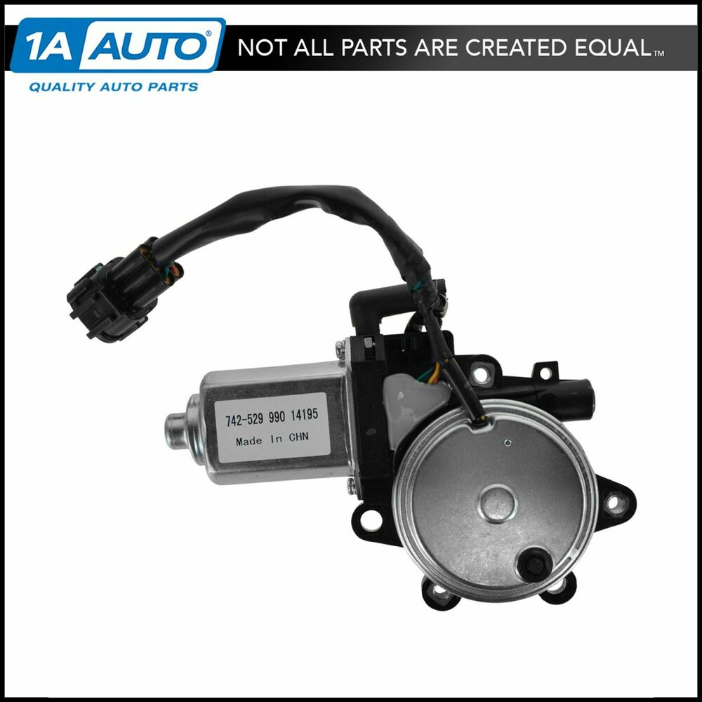 Front Driver Side Power Window Motor For Nissan Pathfinder