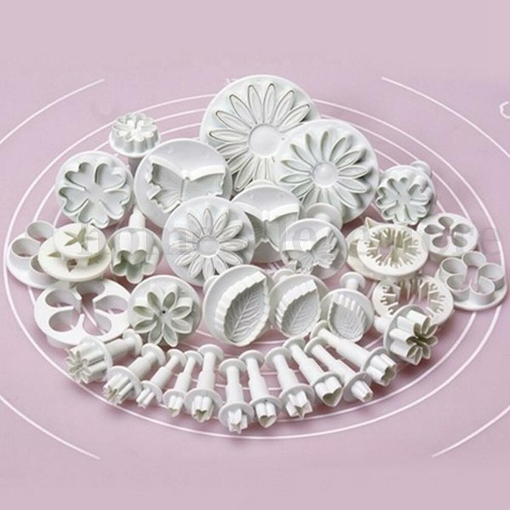 33pcs Pastry Cutters Tools Sugarcraft Cake Decorating Mold ...