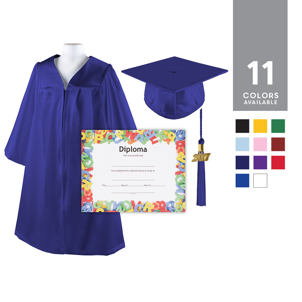kids graduation cap and gown | Gowns Ideas
