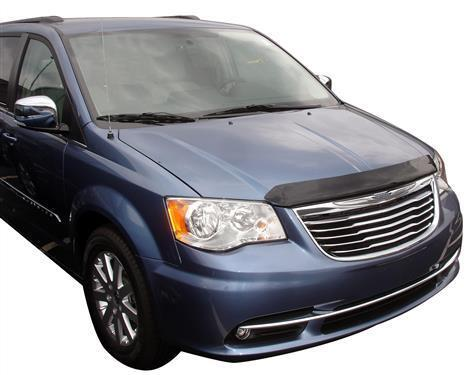 For dodge carvan 25318 smoke hood shield bug guard 2011 for Stone s town country motors