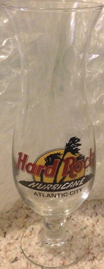 Hard Rock Cafe Hurricane Glass For Sale