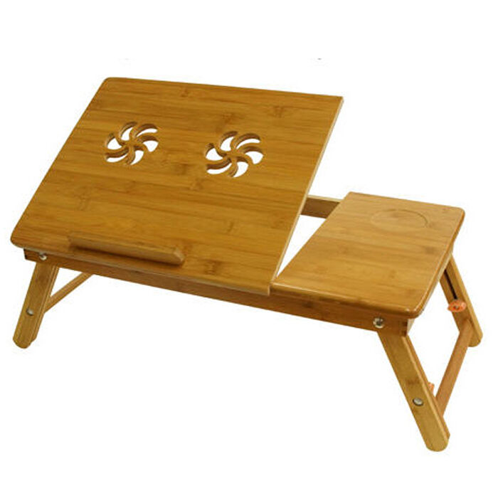 Safe Laptop Desk Table Reading Desk Bed Tray Food Table