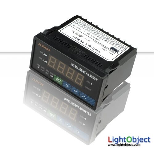 1000 Amp Battery Monitor : Programmable digital ah meter red led ideal for battery