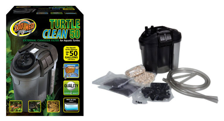 Zoo Med Turtle Clean 50 Canister Filter. Turtle Filter. | eBay