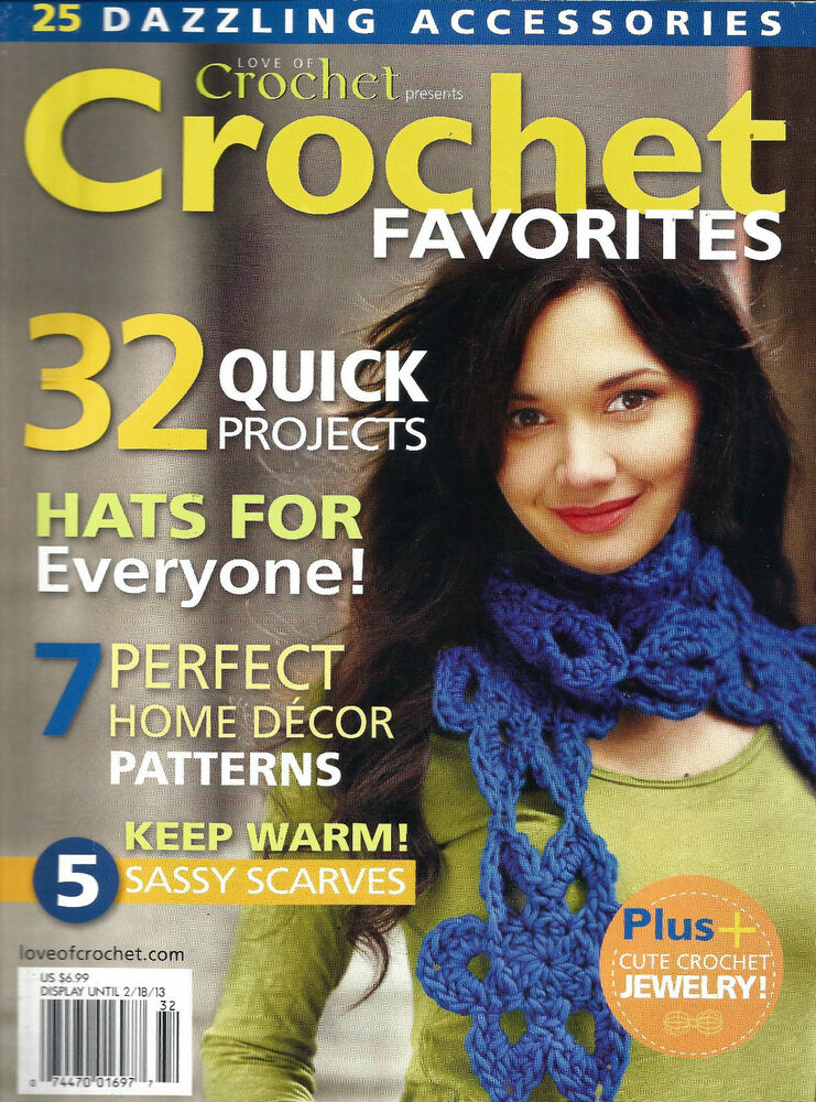 Crochet Magazines List : Love of Crochet Magazine Crochet Favorites 32 Excellent Patterns ...