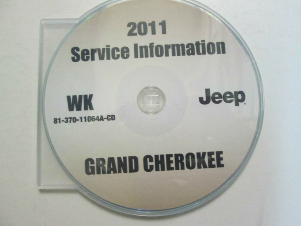 2011 jeep grand cherokee service shop repair manual cd dvd brand new factory ebay. Black Bedroom Furniture Sets. Home Design Ideas