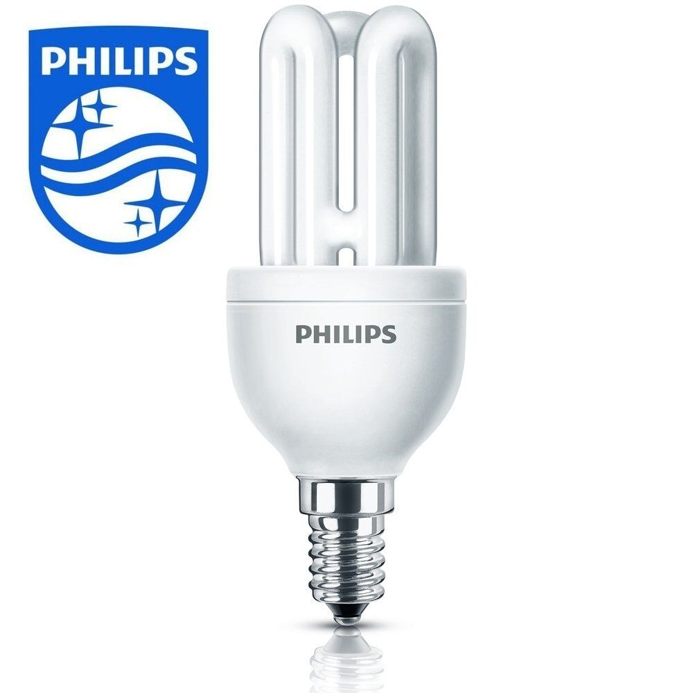 Philips Energy Saving Light Lamp Bulb Small Screw Cap Ses E14 8w 40w New 2422 Ebay