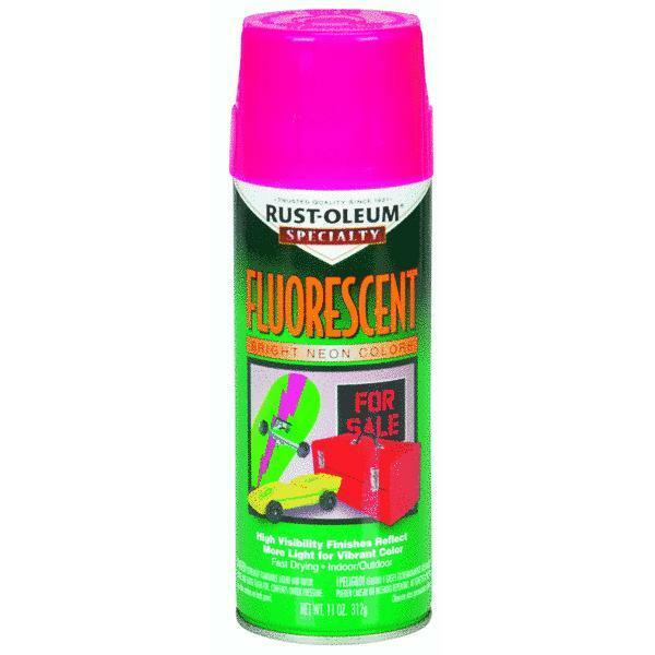 Flourescent Pink Spray Paint By Rustoleum 1959 830 Ebay