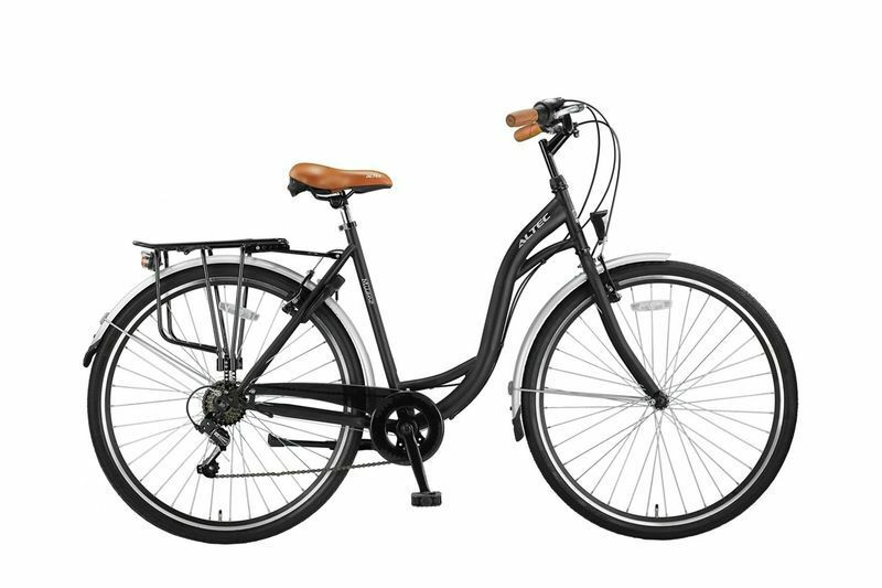 28 zoll damen city bike rad fahrrad cityfahrrad. Black Bedroom Furniture Sets. Home Design Ideas