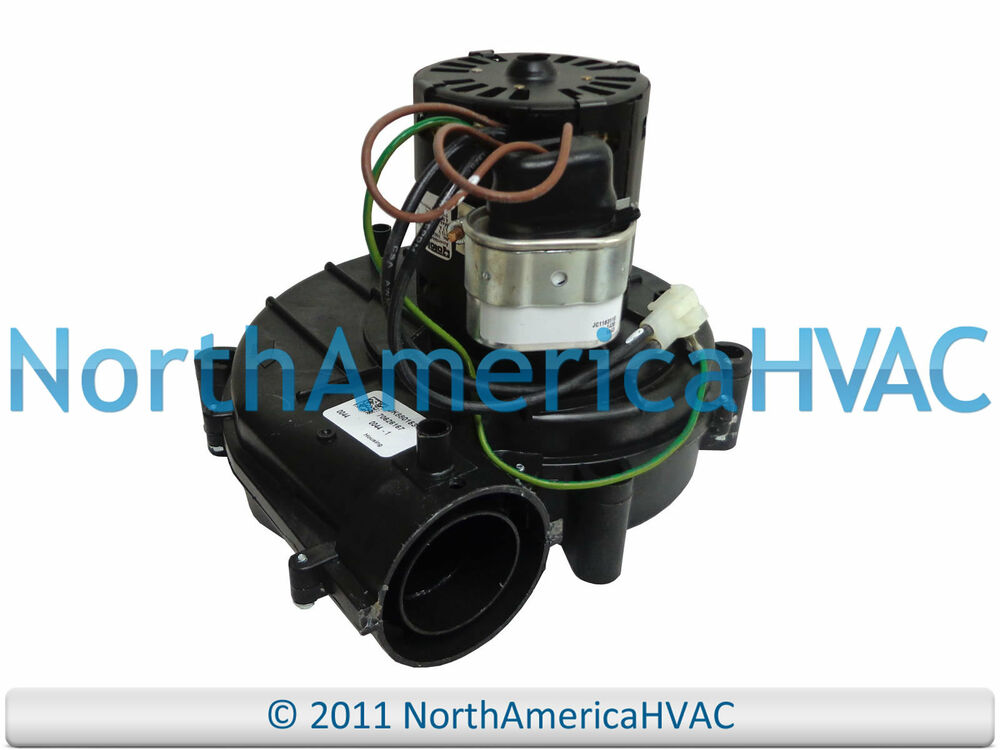 York coleman luxaire furnace exhaust inducer motor 024 for Furnace exhaust blower motor