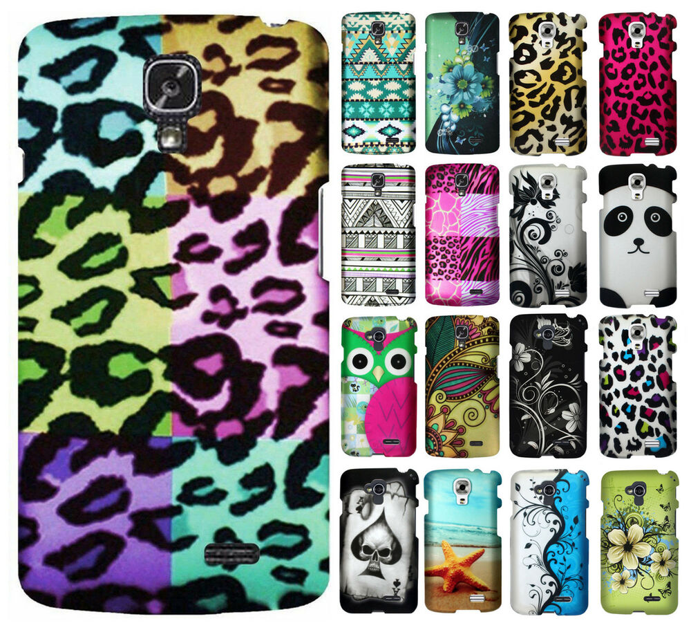 ... L31G Rubberized HARD Protector Case Phone Cover + Screen Guard : eBay