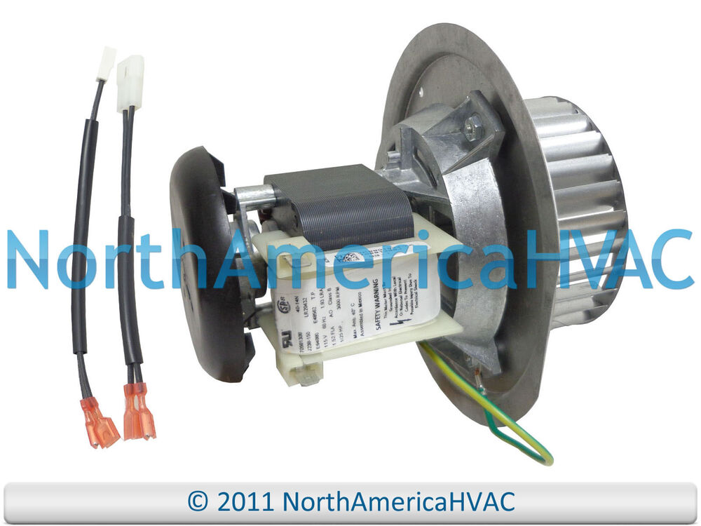 Carrier Bryant Payne Furnace Exhaust Inducer Motor