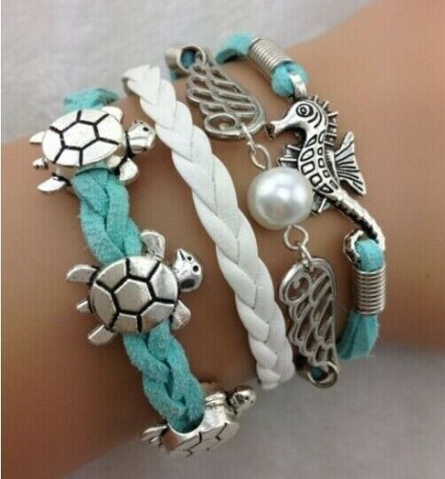 NEW DIY Style Jewelry Fashion Leather Cute Infinity Charm