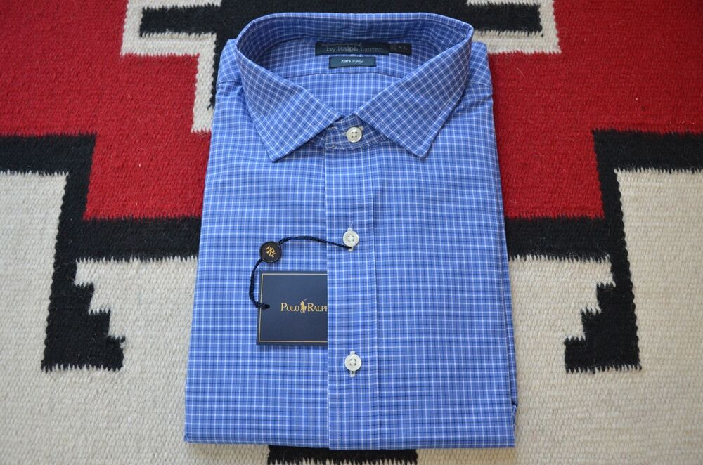 Ralph Lauren Plaid Dress Shirts
