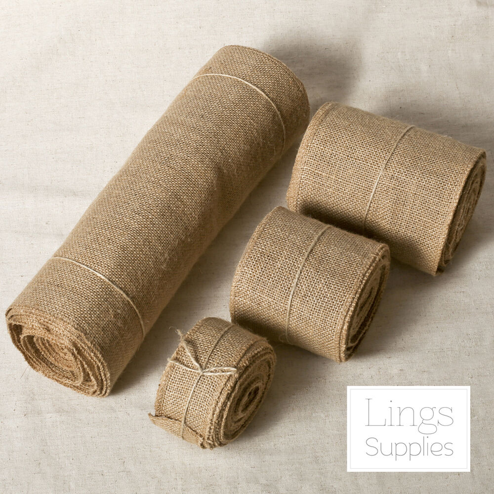 Burlap Roll Jute Fabric 2 4 6 14 Quot Wide 10 Yards 10oz