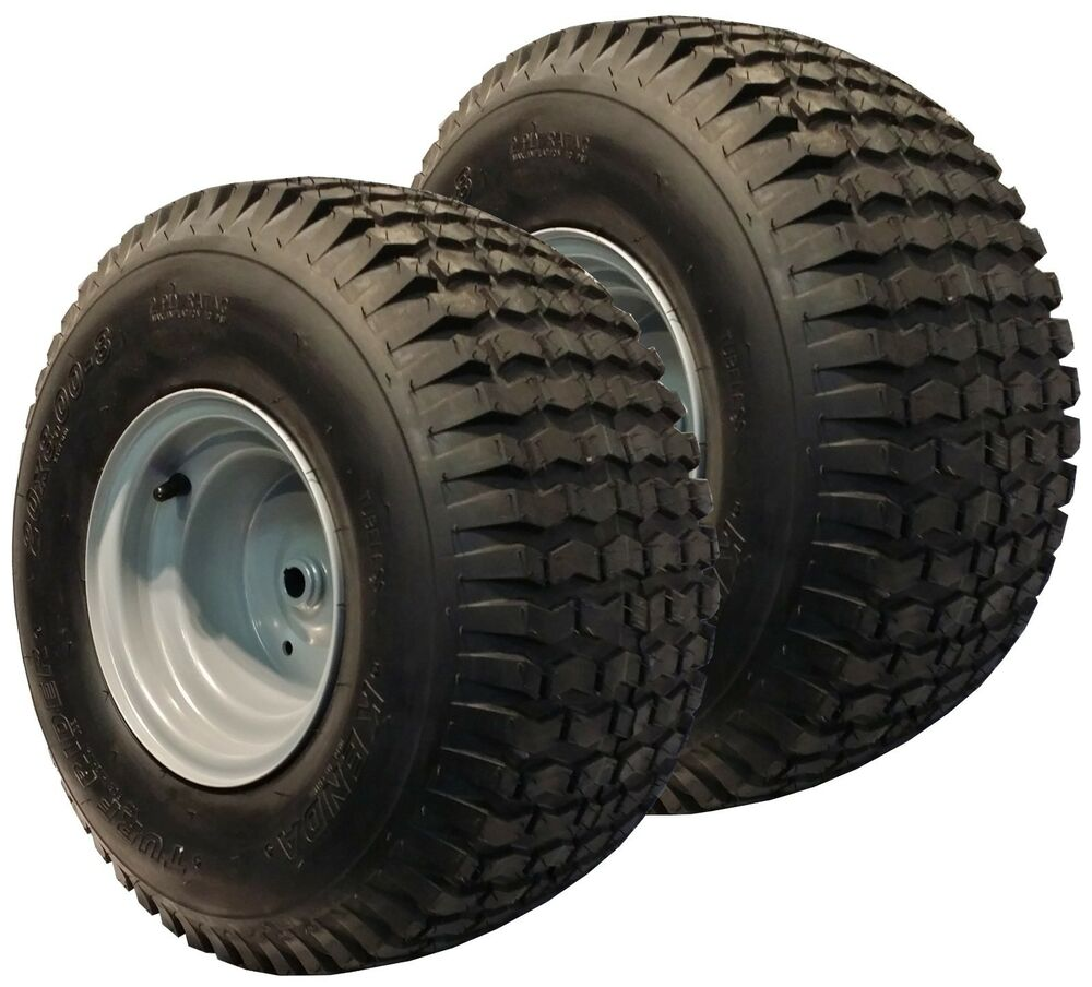 Tractor Wheel Rims : Mower garden tractor tire rim wheel assembly