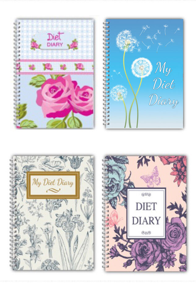 A5 Food Diary Weight Loss Planner Journal Diet Slimming