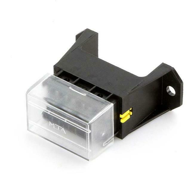details about electrical wiring loom circuit protection additional 4 way  safety fuse box