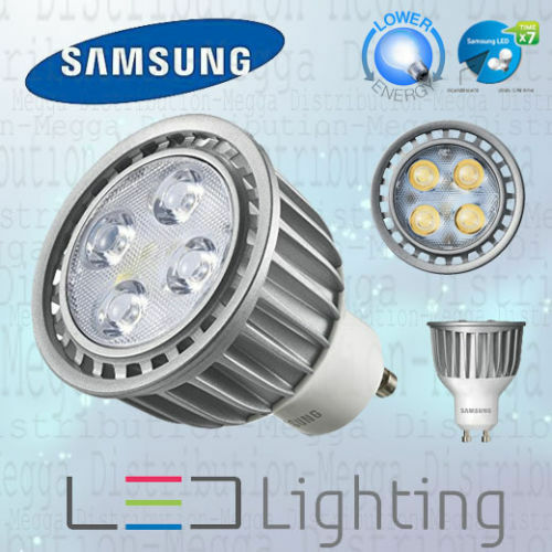 samsung dimmable 35w gu10 led 40d spot light bulb lamp warm white 2700k ebay. Black Bedroom Furniture Sets. Home Design Ideas