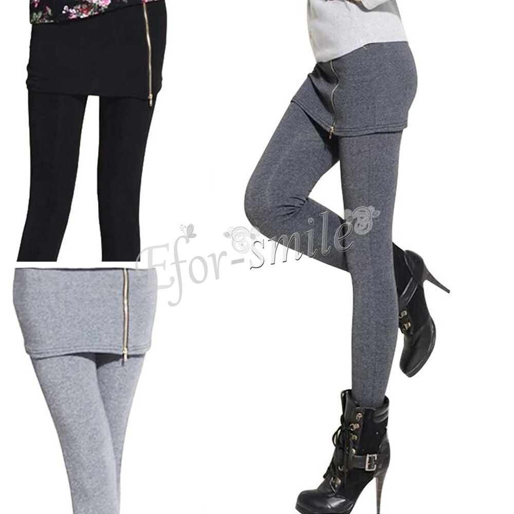 neu leggings mit mini rock treggings leggings leggins sexy. Black Bedroom Furniture Sets. Home Design Ideas