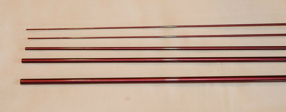 Im6 4 pc 3 wt 9 ft graphite fly rod blank wine colored for Fishing rod blank
