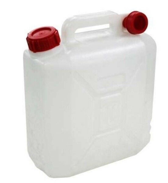 10 Litre Jerry Can Water Storage Petrol Diesel Fuel