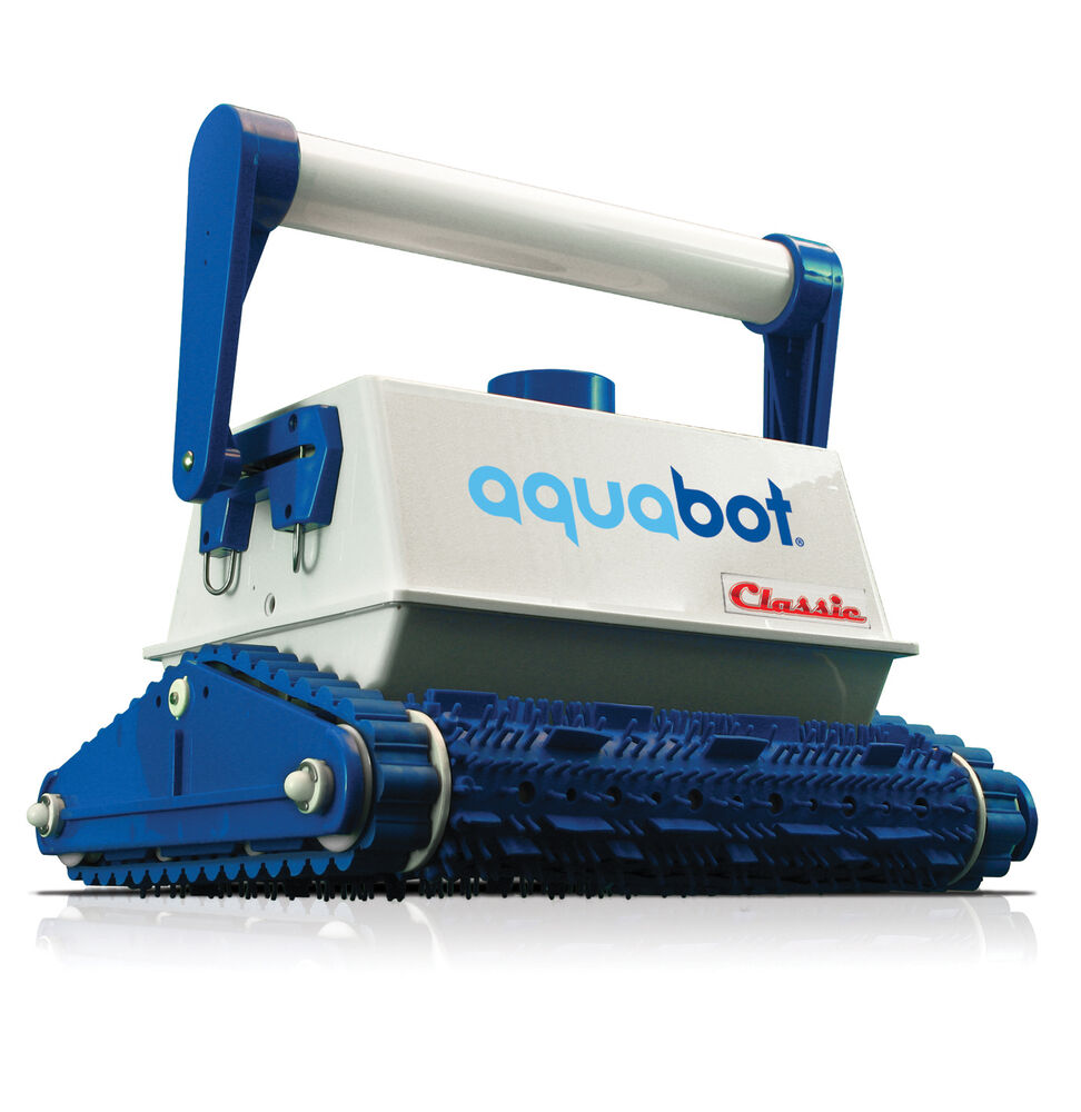 aquabot classic ab in ground automatic robotic swimming pool cleaner vacuum 812729010075 ebay