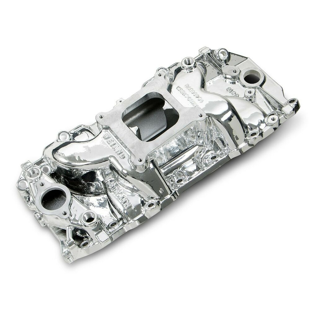 Weiand 8019C Stealth Intake Manifold Everbright Coated