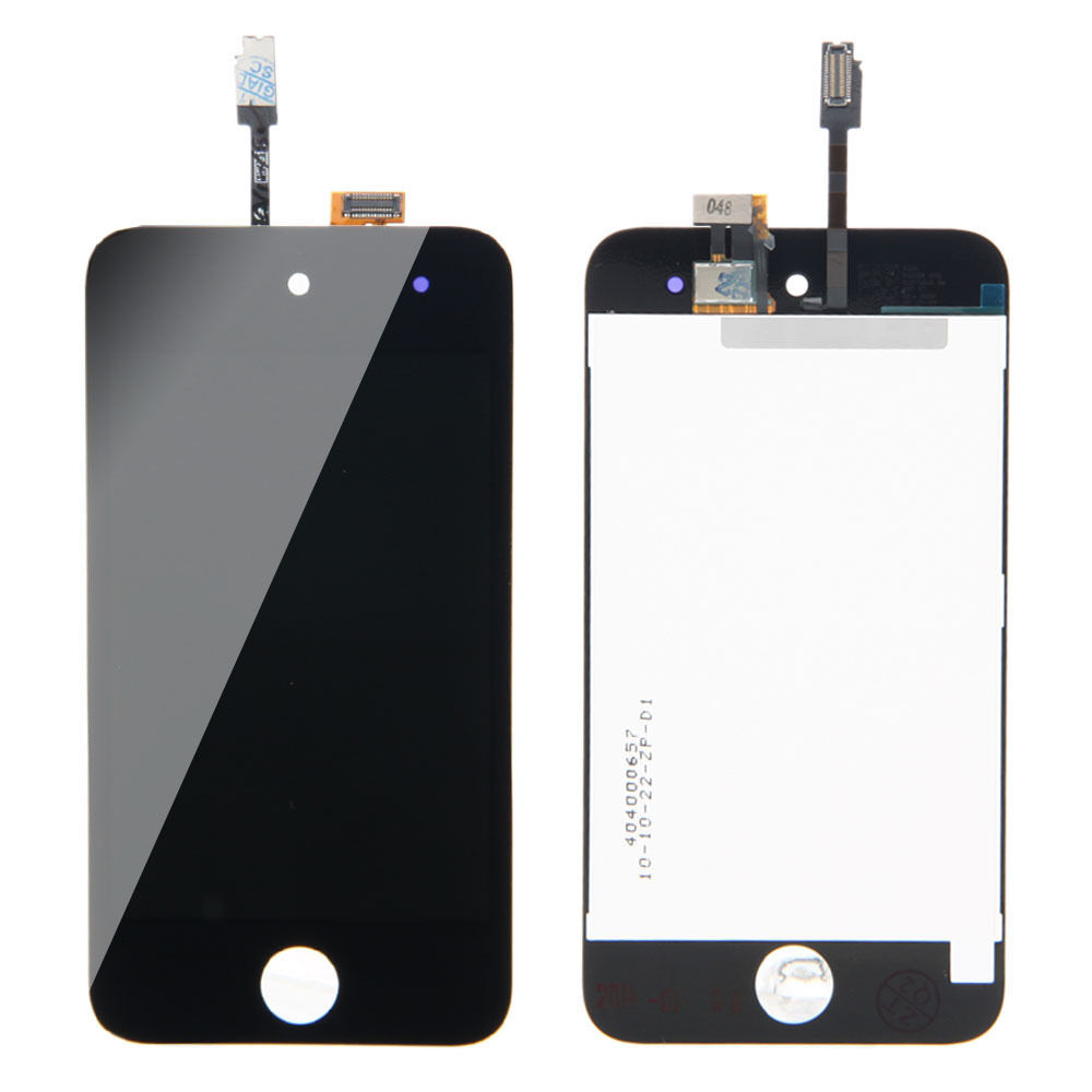 lcd touch digitizer glass screen black a1367 housing assembly for ipod touch 4 ebay. Black Bedroom Furniture Sets. Home Design Ideas